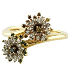 Gold Diamonds Ring