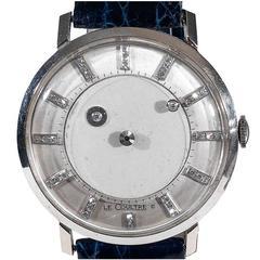 Vacheron & Constantin-LeCoultre White Gold Mystery Wristwatch