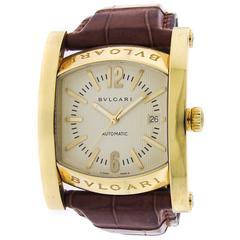 Bulgari yellow gold Assioma Automatic Wristwatch Ref AA48G