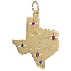 Big Beautiful Gold Gemset Texas Charm