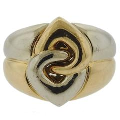 Bulgari Two Color Gold Ring