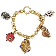 Citrine Charm Bracelets