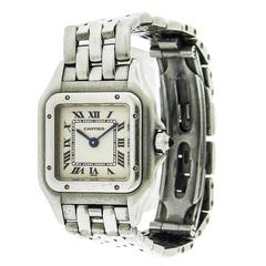 Ladies Cartier Mini Panthere Stainless Steel Ref. W25033P5