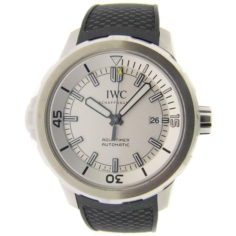 5c312e585c88 IWC Aquatimer Automatic Watch Rubber Strap at 1stdibs