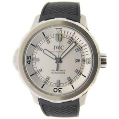 IWC Aquatimer Automatic Watch Rubber Strap