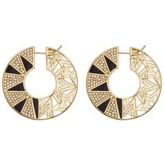 Wonder Star Hoop Earrings