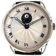 De Bethune White Gold Mechanical Hand-Wound Wristwatch