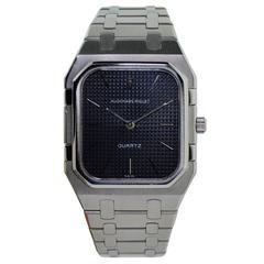 Audemars Stainless Steel Royal Oak Series Quartz Bracelet Wristwatch