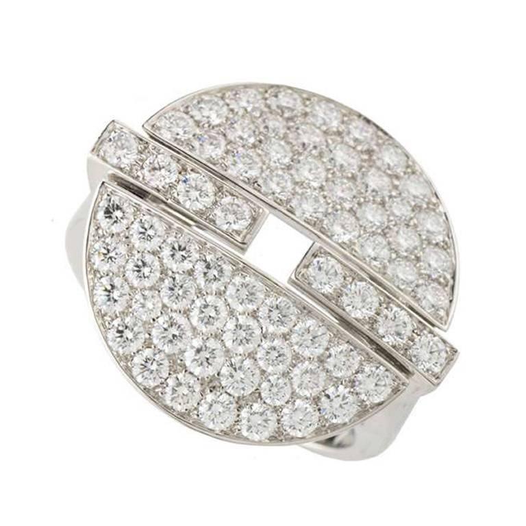 Cartier Himalia Diamond Ring