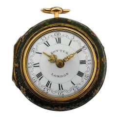 Harry Potter's Watch London 1791 Gold Repousse Verge Fusee