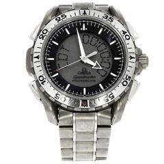 Omega Titanium Speedmaster X-33 Quartz Wristwatch, 2003
