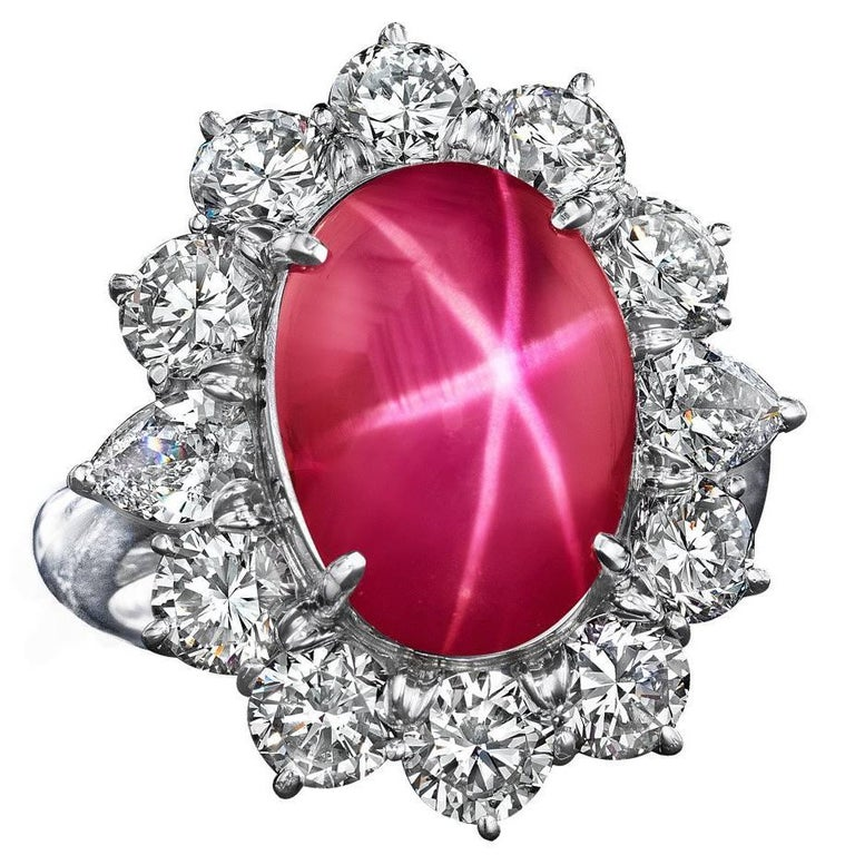 Attractive RUBY Star Cabochon Gemstone 12x11x6 mm 10.05 Cts Ruby Star For Jewelry New Arrival! Unique Gift Handmade Star Cabochon