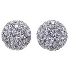 Luise Diamond Stud Earrings