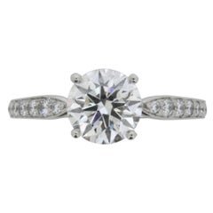 Tiffany & Co. Diamond Solitaire Ring Modern