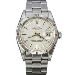Rolex Stainless Steel Date Wristwatch Ref 1501