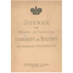 Jewels of Princess Lobanoff de Rostoff 'Sale Catalogue'