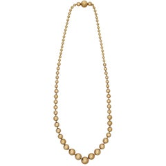 Cartier Gold Necklace