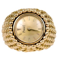 Piaget Gold Ring Watch