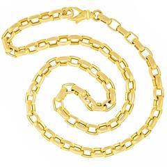 UnoAErre 1970s Gold Necklace