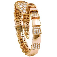 Bulgari Diamond Serpenti Bangle