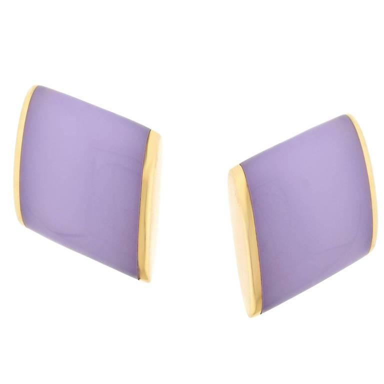 Vhernier Plateau Chalcodney Rose Gold Earrings