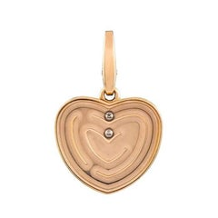 Cartier Rose Gold Maze Pendant