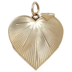 Gold Heart Locket for Six Pictures