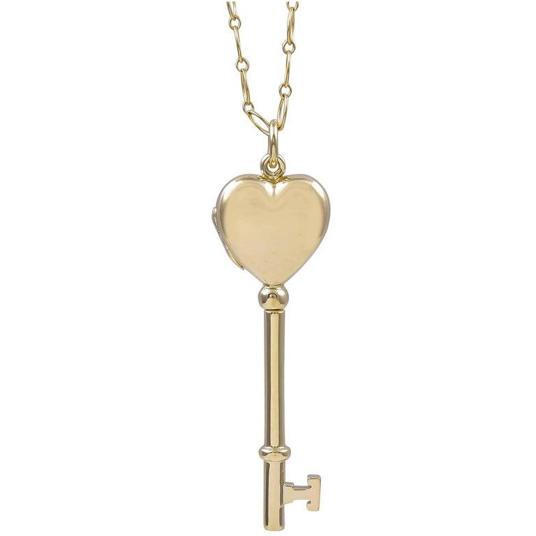Tiffany & Co. Key to My Heart Locket Pendant
