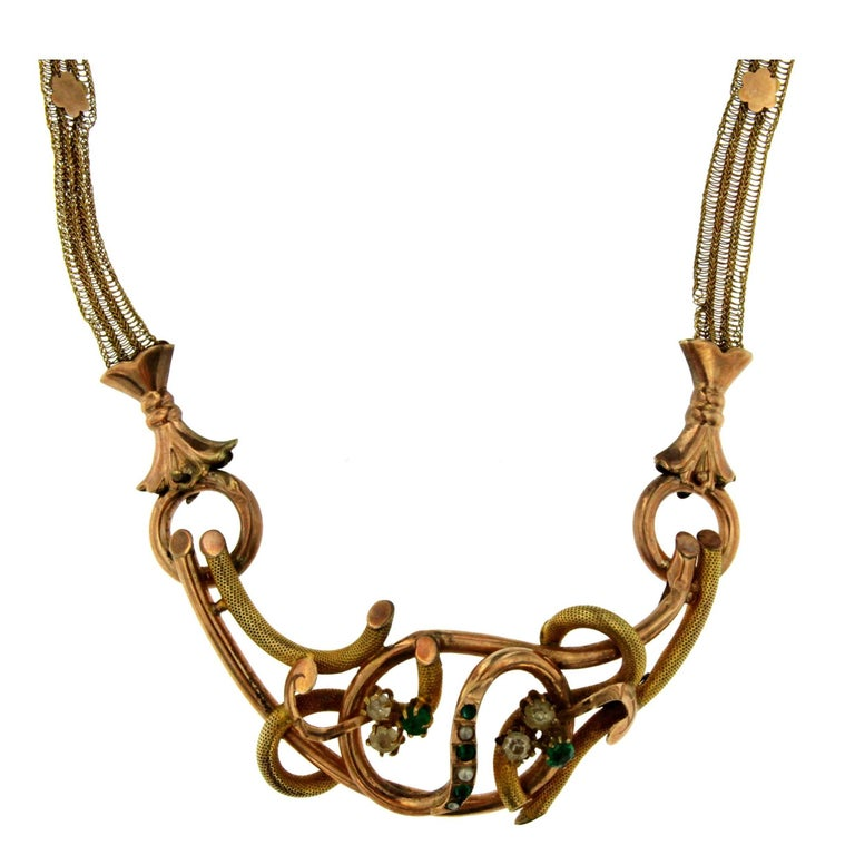 1790s Bourbon Gold Necklace