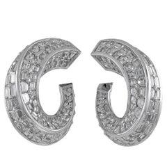 Graff Diamond Baguette Earrings