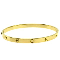 Cartier Love Bracelet in 18 Karat Yellow Gold