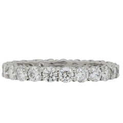 Tiffany & Co. 1.87 Carat Diamond Eternity Ring