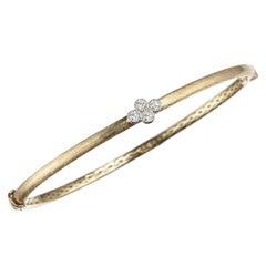 Jude Frances Diamond Quad Bracelet in 18 Karat Yellow Gold