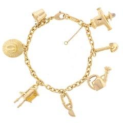 Cartier Garden Charm Bracelet