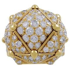 David Webb Diamond Dome Ring