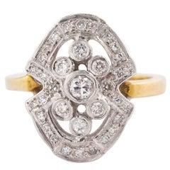 1940s Diamond Ring