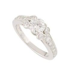 Cartier Ballerine Diamond Ring 0.71 Carat