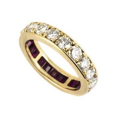 Diamond and Ruby Dress Ring