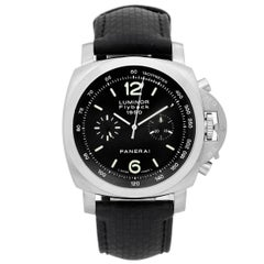 Panerai Stainless Steel Luminor Flyback GMT Automatic Wristwatch, 1950
