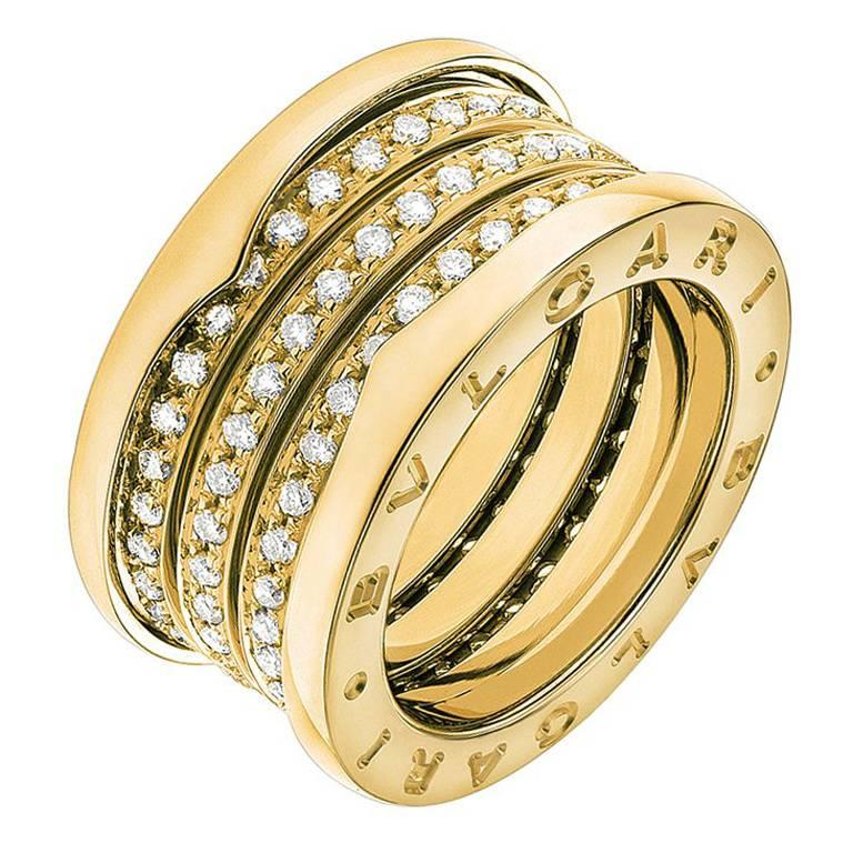 yellow gold bands wide spinner diamond ring il band listing