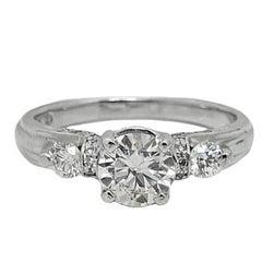 Verragio 1.10 Carat Diamond Platinum Engagement Ring