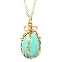 Jean Schlumberger for Tiffany & Co. Egg Pendant Necklace