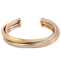Cartier Trinity Gold Cuff Bracelet