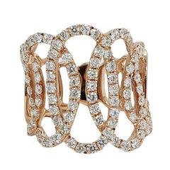 2.20 Carat Rose Gold Ring