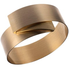 Isabelle Fa Folding Bangle Bracelet in 18 Karat Yellow Gold