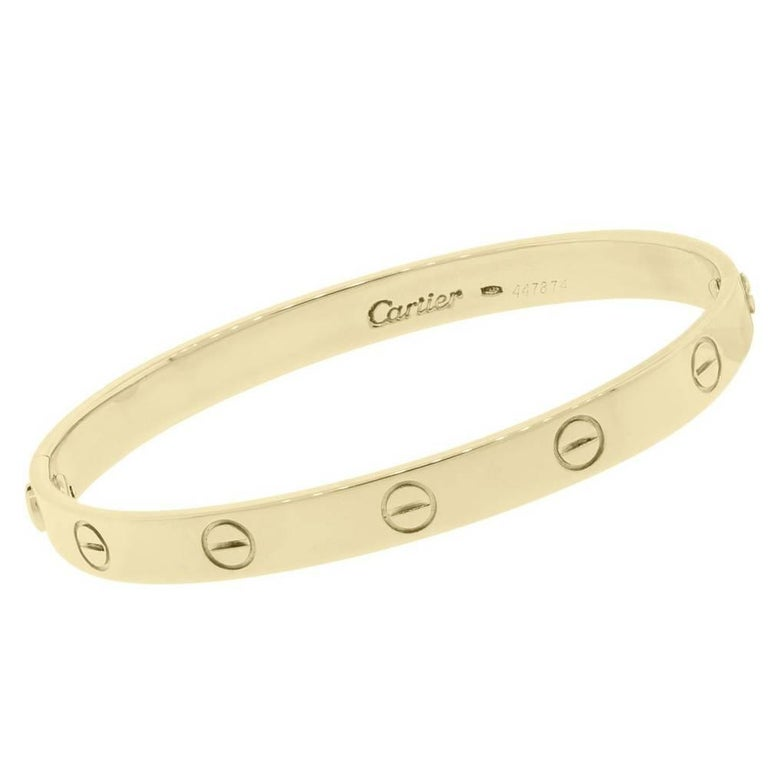 Cartier Love Bangle For Sale