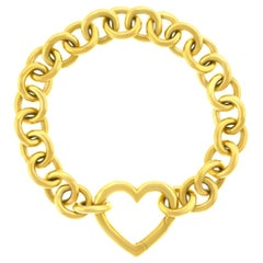 Tiffany & Co. Gold Heart Bracelet