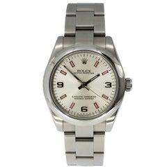 Rolex Stainless Steel Date Oyster Bracelet Midsize Wristwatch Ref 177200, 2006