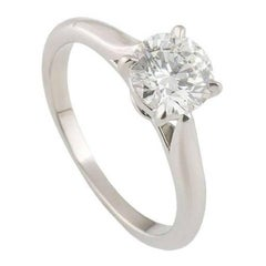 Cartier 1895 Diamond Engagement Ring 1.08 Carat