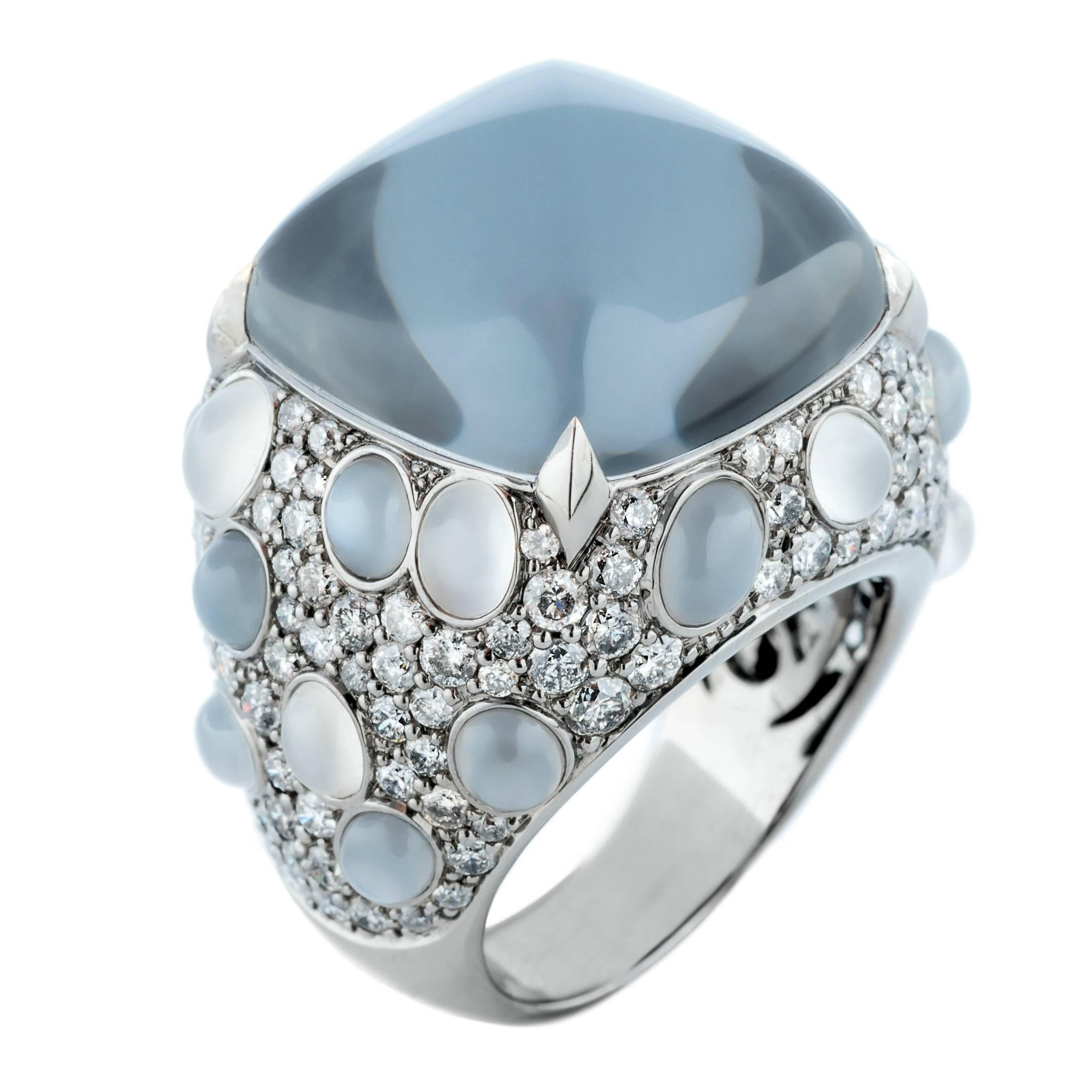 hedy martinelli grey topaz white diamond moonstone ring